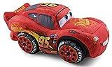 Grandi Giochi- Cars3 Saetta McQueen Peluche, Colore Rosso, 25 cm, GG01257