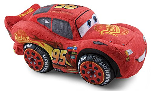 Grandi Giochi- Cars3 Saetta McQueen Peluche,...