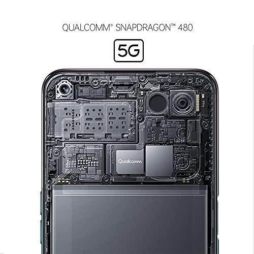 OPPO A54 5G Smartphone, 48 MP KI-Vierfachkamera mit Ultra Nacht Video, 6,5 Zoll 90 Hz FHD+ Neo-Display, 5.000 mAh Akku, 5G-Prozessor, 64 GB Speicher, 4 GB RAM, ColorOS 11.1, Dual-SIM, Fluid Black - 4
