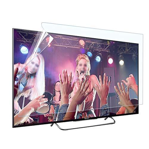 ASPZQ Filtro Antideslumbrante Protector de Pantalla Anti Luz Azul para TV 32-75 Pulgadas LCD LED Plasma HDTV Reducir La Radiación, 18 Tamaños (Color : Matte Version, Size : 50 Inch 1095 * 616mm)