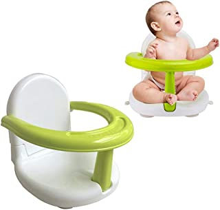 Hendont Foldable Baby Bath Seat Baby Bathtub Seat for Sit Up,Multi-Function Anti-Skid Safety Seat ,with Backrest Support Infant Shower Safety Seat for Kids & Toddlers & Babies & Newborn