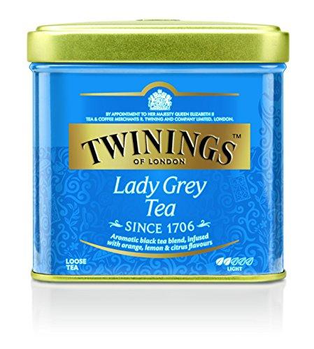 Twinings Tè Nero Classic Lady Grey in Lattina, 1 Unit, 100 g
