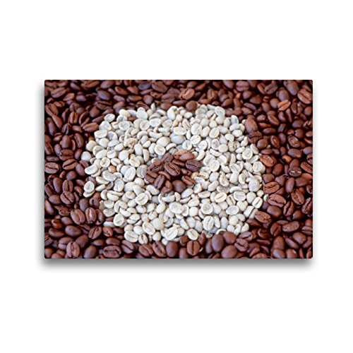 CALVENDO Premium Textil-Leinwand 45 x 30 cm Quer-Format Kaffee (CH-Version), Leinwanddruck von Anette Jäger