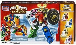 Mega Bloks Power Rangers Samurai Megazord with 4 Bonus Mega Mode Power Rangers
