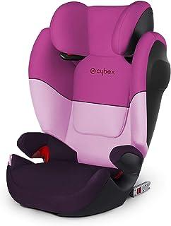 Cybex Silver Kinderzitje, autostoeltje voor kinderen, Solution M-Fix SL, groep 2/3 (15 - 36 kg), met ISOFIX, purple rain
