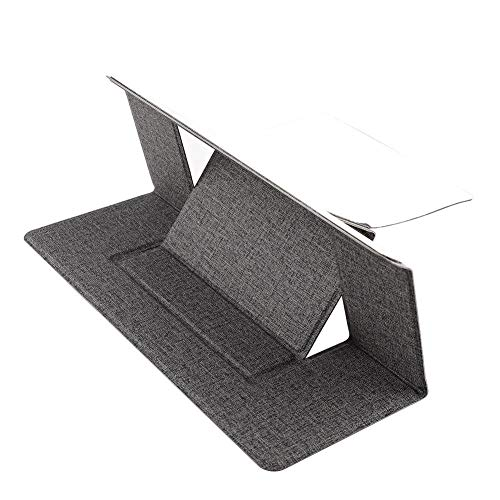 Adjustable laptop stand laptop pad sticky invisible stand foldable stand portable tablet stand for iPad MacBooks laptop-as shown