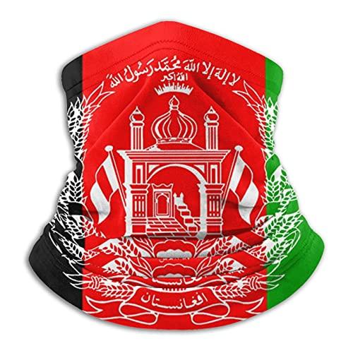 Bandana de la bandera de Afganistán unisex para la cabeza, bufanda, protección UV, pasamontañas, polvo, resistente al viento, polainas para el cuello, para deportes multifuncionales