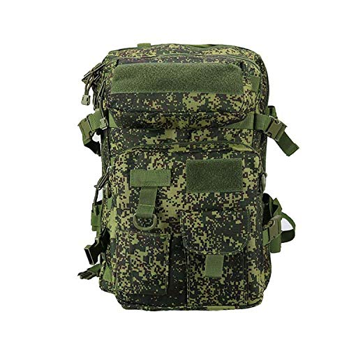 LWSS Backpack Tactical Backpack Hiking Backpack Trekking Backpack with a Large Capacity 47X33X24/Russian Camouflage