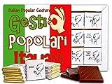 POPULAR ITALIAN GESTURES Chocolate Gift Set, 5x5in, 1 box (Flag Prime 0493)