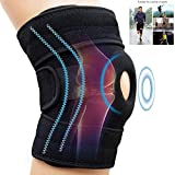 SUPRBIRD Attelle de Genou Support Course Jogging Exercice Ajustable Unisexe
