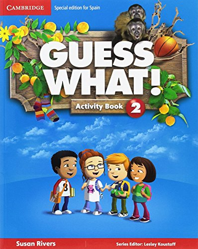 Guess What! Activity Book Level 2 con Home Booklet and Online Interactive Activities, Pack de 2 libros