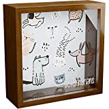 Gift for Veterinarian | 6x6x2 Memory Shadow Box | Glass Fronted Keepsake Box | Veterinary Wall Art | Veterinary Technician Gift | Ideal Wall for Home and Office Decor | Vet Tech Gifts for Women & Man