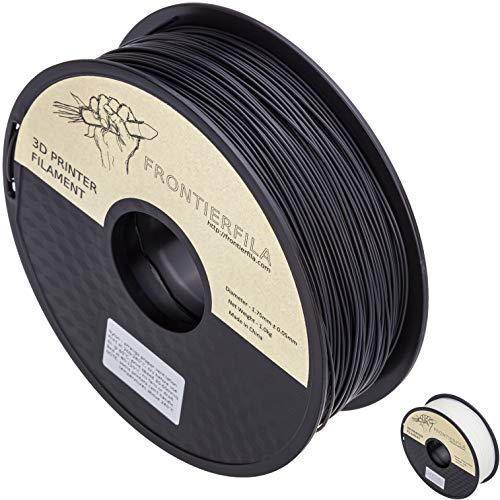 Nylon 1kg 1.75mm negro - Filamento para impresora 3D - FrontierFila