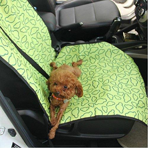 Kaxima Tapis de voiture double Oxford rembourré de coussin coussin coussin de voiture passager 105 * 55cm, passager de la voiture chien petit chien de la voiture pour animaux de compagnie
