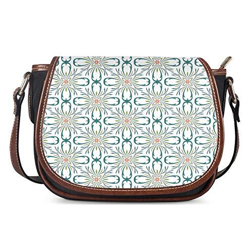Lady Bags, Bolsos de Las Mujeres Messenger Ladies Bolsa de Hombro Bolsa Femenino Silla Casual Bag Crossbody Al Aire Libre Creatividad,Blanco