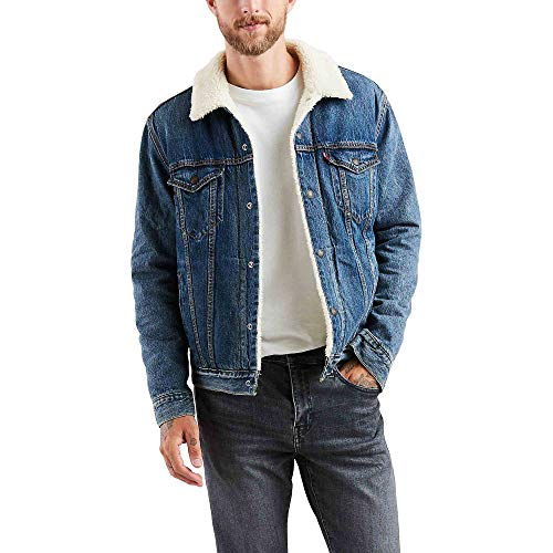 Levi's Men's Sherpa Trucker Jacket - Mays - S