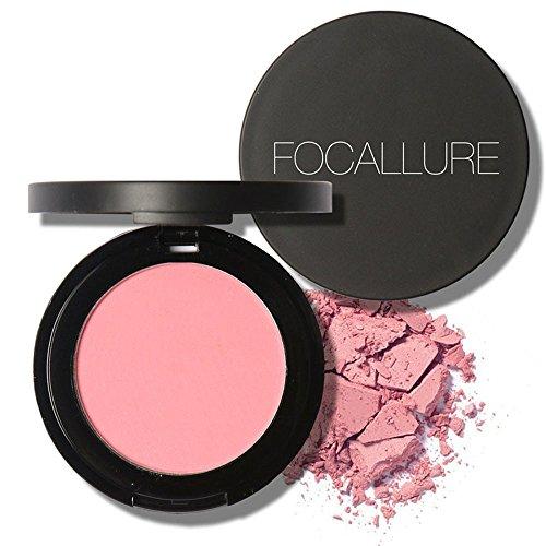 FAMILIZO FOCALLURE Capacidad de Reparación Blusher Polvo Coloretes Brillo Gloss Fine Contorno