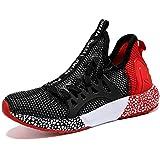 zapatillas deportivas rojas niño