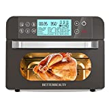 Air Fryer Toaster Oven Combo 20-in-1, Air Fryer Oven 21 Quart/20L with Rotisserie Dehydrator Broil, Large Toaster Oven with Digital Control, Easy Baking Convection Countertop Oven