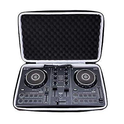 LTGEM Hard Case for Pioneer DJ DDJ-200 Smart DJ Controller - Travel Protective Bag