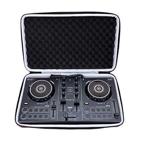 LTGEM Hard Case for Pioneer DJ DDJ-200 Smart or Pioneer DDJ-200 / DDJ-WeGO4-K/DDJ-WEGO3 DJ Controller - Travel Protective Bag