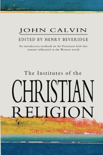 Institutes of Christian Religion