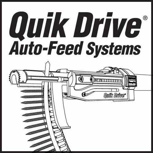 QuikDrive PRO300SRFG2M25K Tile Roofing System w/ Makita 2500 rpm Motor