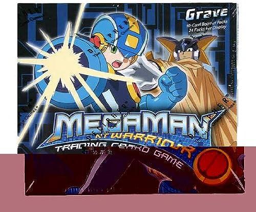 Mega Man Trading voitured Game  Grave Booster Box