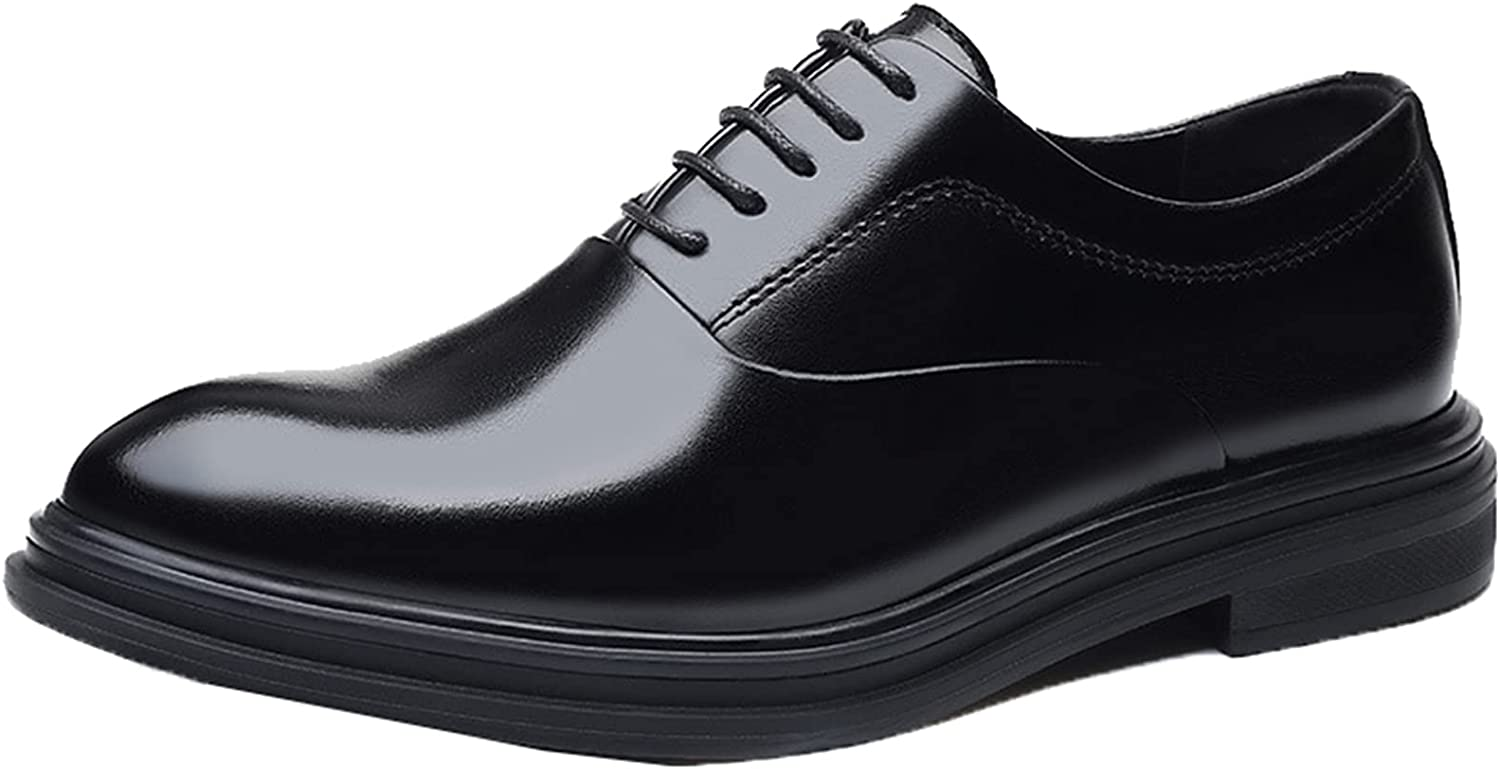 Men Business Shoes Waterproof Lightweight Leather La shipfree Selling and selling Toe Pointed