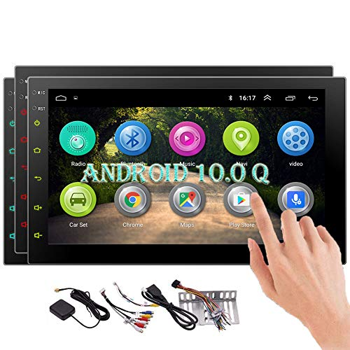EinCar Android Car Stereo System Double 2 Din Bluetooth Autoradio 7 INCH Android 10.0 Head Unit GPS Navigation in Dash 1080p Video Audio Player Support WiFi USB SD Mirrorlink Capacitive Touchscreen