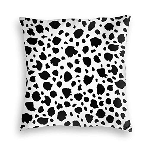 jenny-shop Spotted Animals Wildlife Dalmation 45x45 cm Square Throw Pillow Cover Cushion Covers Pillowcase