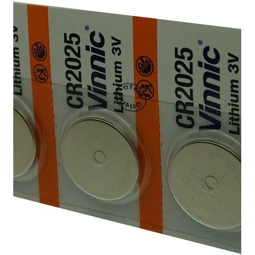 Otech Pack de 5 baterías Vinnic para Polar FT40
