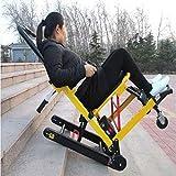 JBP max Silla de Ruedas eléctrica Tripulado Escaleras de Escalada Silla de Ruedas Scooter de Edad Avanzada Arriba Escalera eléctrica de Silla de Ruedas