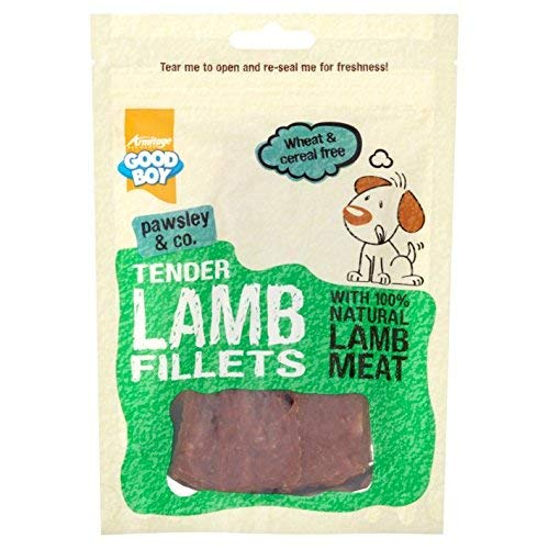 Good Boy Pawsley and Co Tender Lammfilets, 80 g, 1 Packung