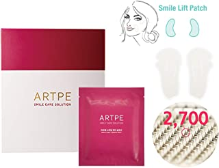 ARTPE Smile Care Solution Multi Spot Patch 7pair (Total 14 Patch) - 2700 Microneedles Hyaluronicacid Filler Patches for Eye & Smile Wrinkles, High Absorbency Overnight Smoothing Wrinkle Remover Strips
