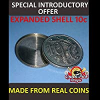 10 CENT AUSTRALIAN EXPANDED COIN SHELL / MADE FROM REAL COINS PREMIUM QUALITY