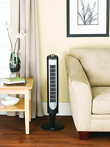 Holmes Oscillating Tower Fan 32 Inch with Remote Control HT38R-U