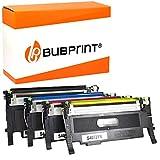 4 Bubprint Cartucho Tóner Compatible para Samsung CLT-P4072C/ELS para CLP-320 CLP-320N CLP-325 CLP-325N CLP-325W CLX-3180 CLX-3185 CLX-3185FN CLX-3185FW CLX-3185N CLX-3185W Set