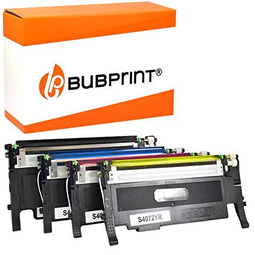 4 Bubprint Toner kompatibel für Samsung CLT-P4072C/ELS für CLP-320 CLP-320N CLP-325 CLP-325N CLP-325W CLX-3180 CLX-3185 CLX-3185FN CLX-3185FW CLX-3185N CLX-3185W Set