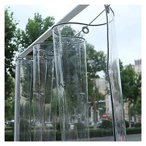 ALGWXQ Transparentes Lonas De Toldos Eficaz A Prueba De Agua Techo Tienda Jardín Tapa Protectora Carpa A Prueba De Lluvia Y Viento, 15 Especificaciones (Color : Clear, Size : 2x3m)