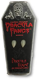 Custom Dracula Fangs Vampire Thermoplastic Adult Halloween