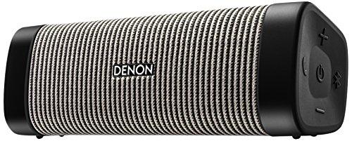 デノン Denon DSB50BT ポータブルワイヤレススピーカー Envaya Pocket Bluetooth対応 IPX7 防水/IP6X 防塵 aptX対応 ブラック/グレー DSB50BTBG