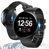 Bluetooth Smart Watch , Health & Fitness Tracker Smartwatch Heart Rate Monitor Blood