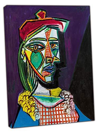 Pablo Picasso - Cuadro con lienzo enmarcado