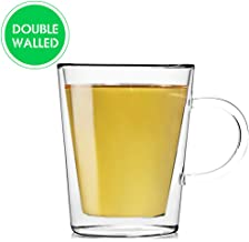 Teabox Lunar Glass Teacup (Doublewalled Borosilicate Glass, Insulated Tea Cup, 300ml)