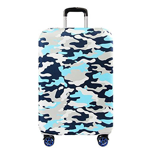 Haodasi Anti-scratch Thicken Elastic Travel Trip Suitcase Cover Luggage Protector Bag Camouflage Pattern 18-32'
