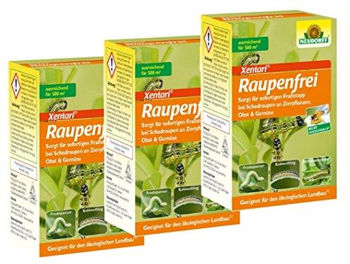 Neudorff 3 x 25 g Raupenfrei Xen Tari Sparpaket