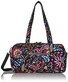 Vera Bradley Women's Signature Cotton Small Travel Duffel Bag, Foxwood, One Size