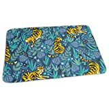 Bikofhd Tiger Forest Baby Reusable Changing Pad Portable Changing Mat