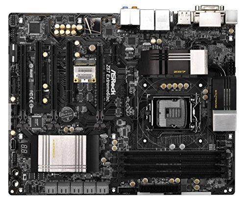 Asrock Z87 EXTREME6/AC Mainboard Sockel LGA 1150 (ATX, Intel Z87, 4X DDR3 Speicher, DisplayPort, HDMI, 10x SATA III, eSATA, 8X USB 3.0)